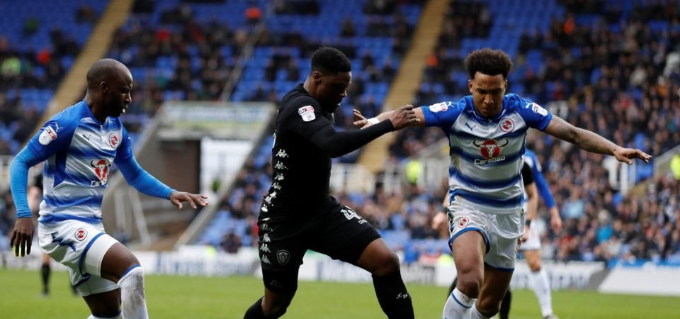 Leeds United fans have lost confidence in Caleb Ekuban after Saturday draw