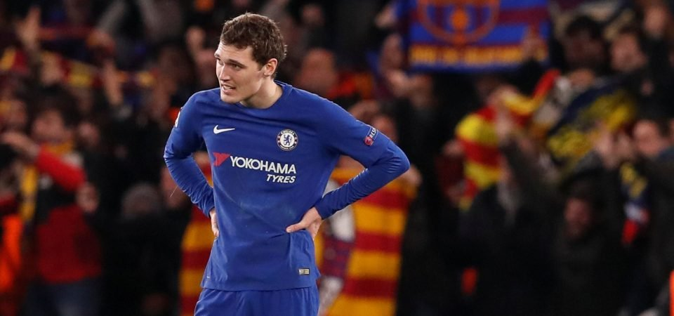 Chelsea fans are worried about the form of Andreas Christensen