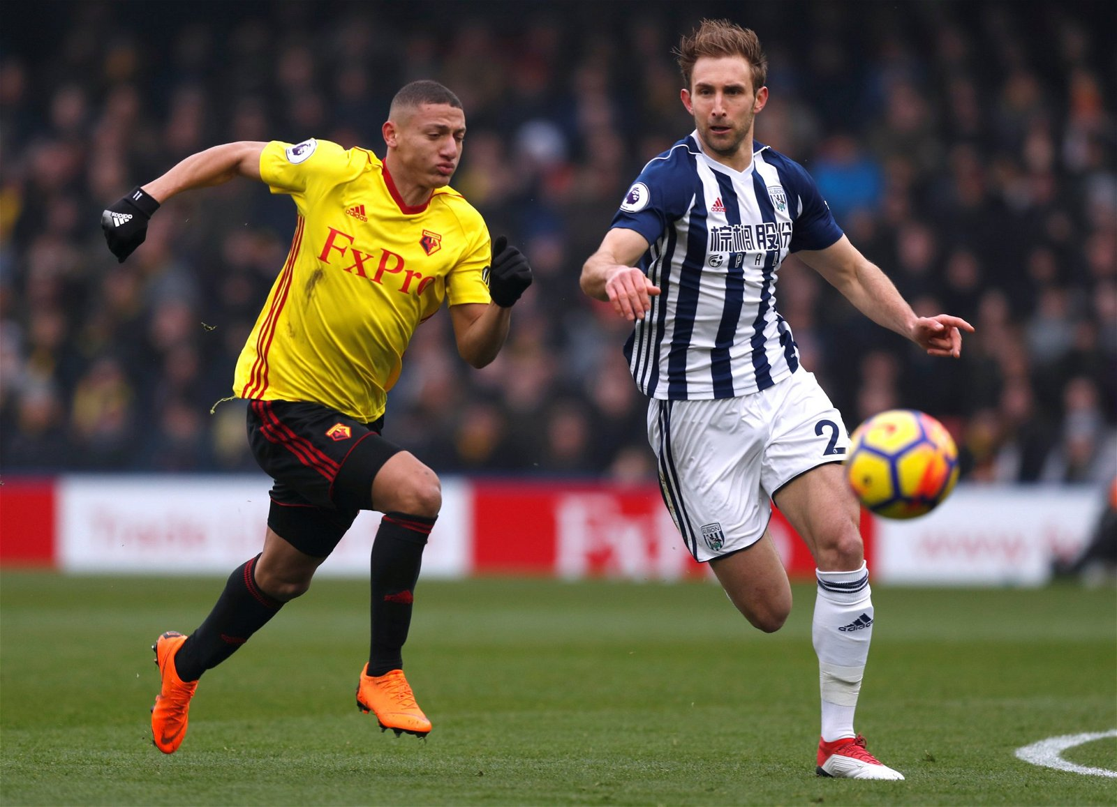 Craig Dawson in action for West Bromwich Albion