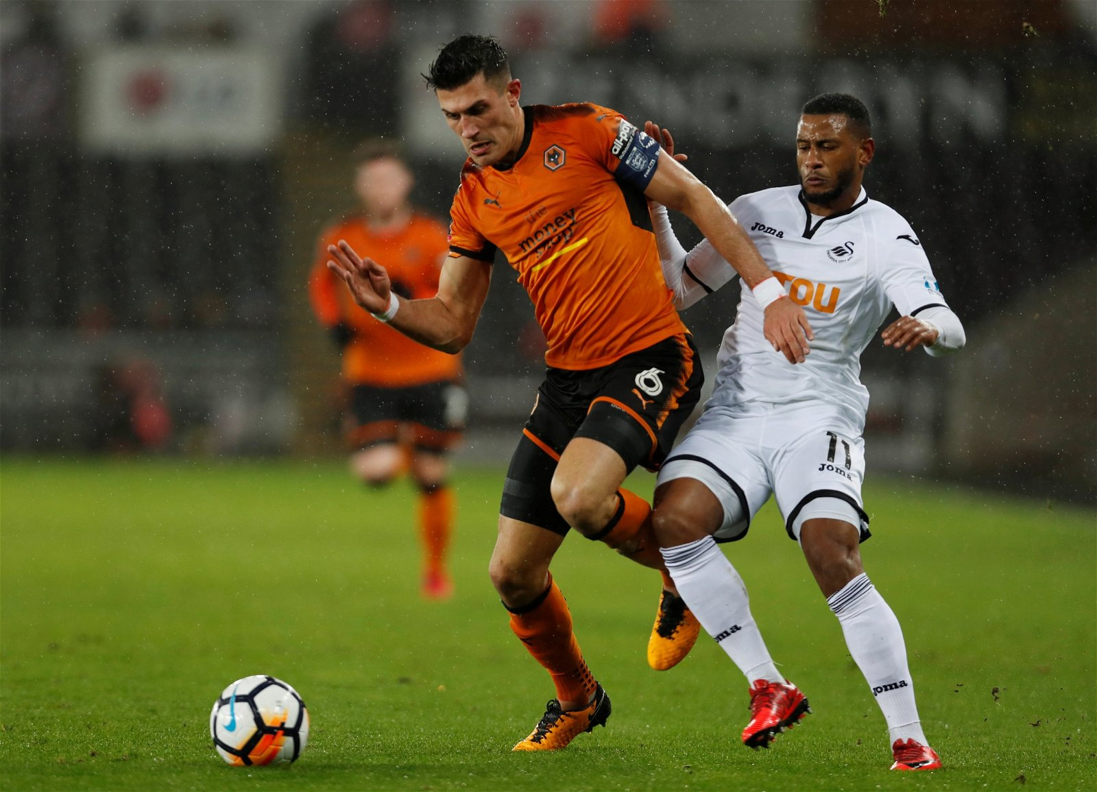 Danny Batth in action with Wolves