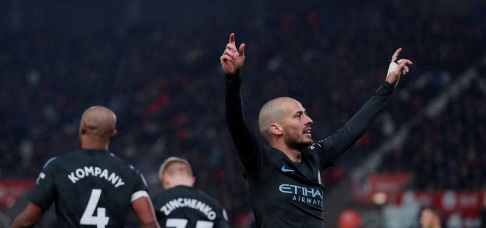 David Silva the difference yet again as Man City pick apart Stoke in 2-0