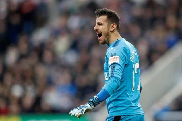 Newcastle fans desperate for Dubravka to stay