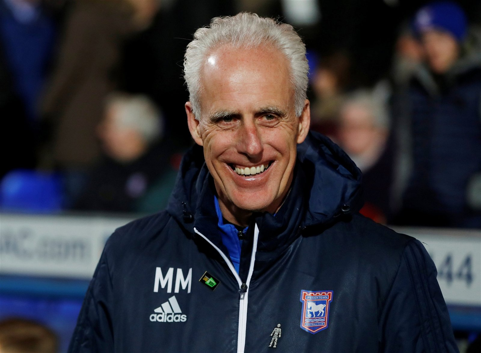 Former Ipswich Town manager Mick McCarthy