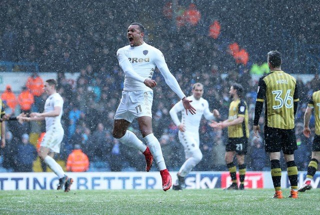 Leeds fans like what they see of Jay-Roy Grot