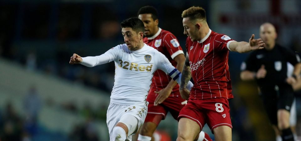 Leeds fans react as report says Pablo Hernandez is set to sign new two-year deal