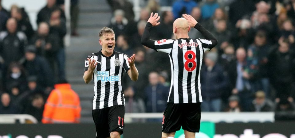 Jonjo Shelvey the driving force as Newcastle move closer to safety with win over Southampton