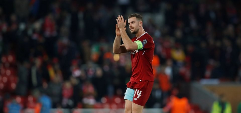 43% of Liverpool fans want Klopp to drop Henderson for United clash