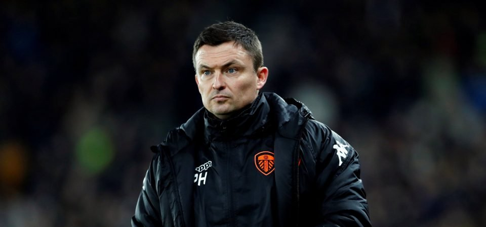 Leeds fans hilariously mock Paul Heckingbottom