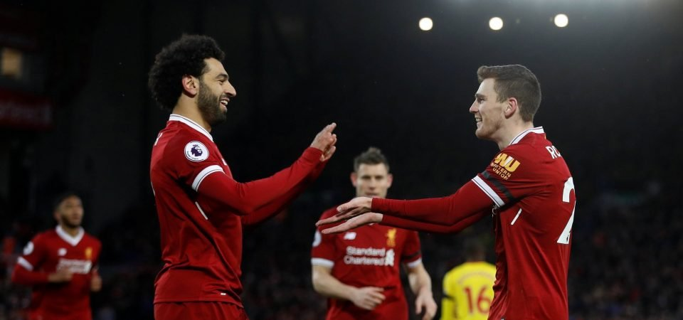 Liverpool fans continue to be impressed by Andy Robertson after win over Watford
