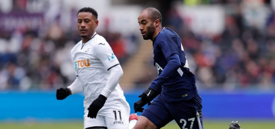 Fans are delighted with the way Lucas Moura is fitting in at Tottenham Hotspur