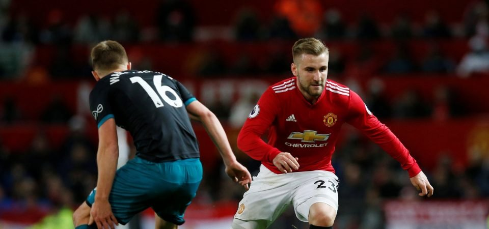 Man United fans believe Luke Shaw's Old Trafford career is coming to an end