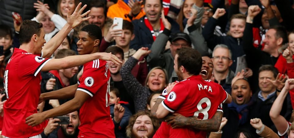 Manchester United fans absolutely loved Rashford's return to starting eleven