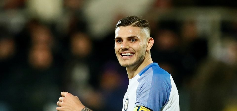 Chelsea fans are excited by links with Inter Milan forward Mauro Icardi