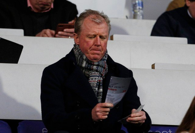 Newcastle fans mock McClaren after Mitrovic comments