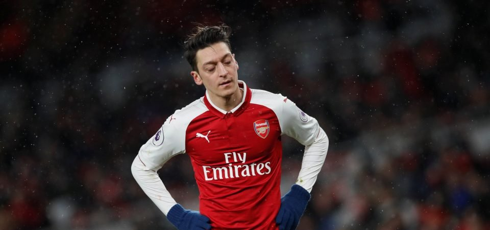 Arsenal's top five dribblers in the Premier League this season