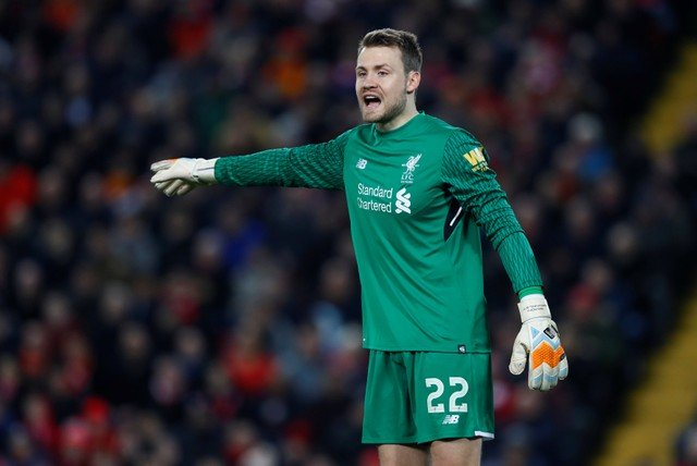 Mignolet in action vs West Brom