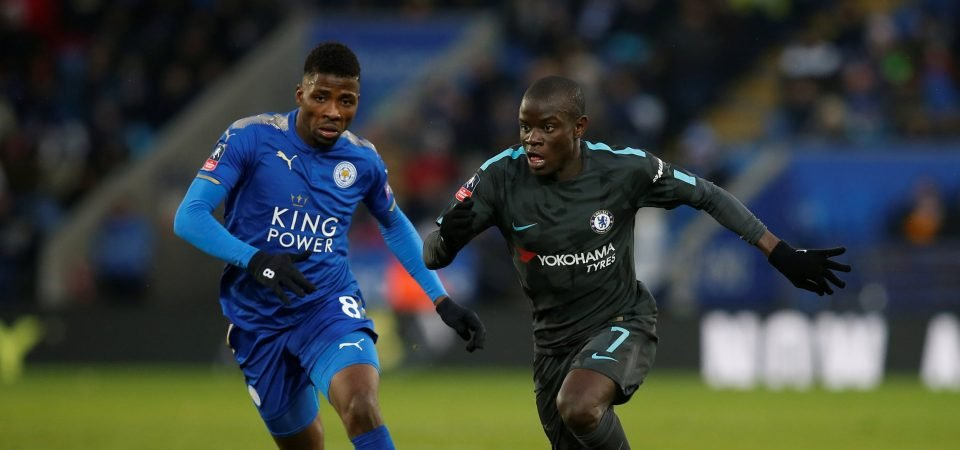 Chelsea fans absolutely love N'Golo Kante's performance vs Leicester