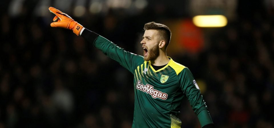 Angus Gunn could be perfect replacement for Craig Gordon at Celtic