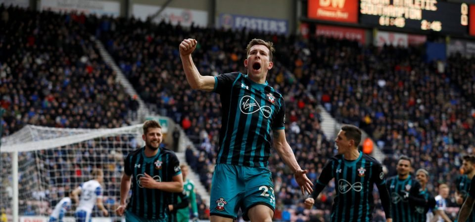 Southampton fans loved Hojbjerg's performance in FA Cup win