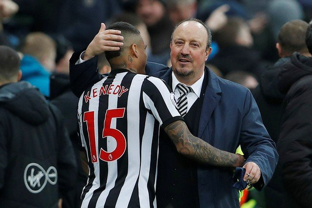 Newcastle fans are absolutely in love with Rafa Benitez