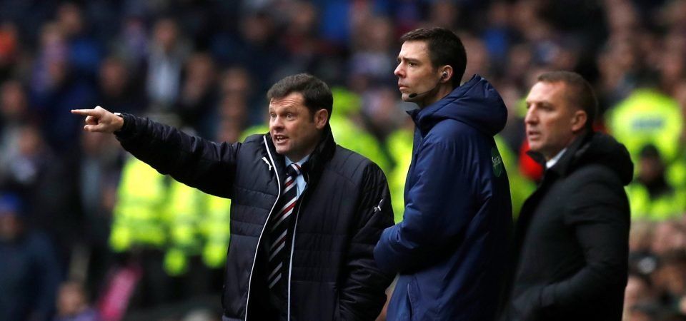 Rangers fans react to confirmed starting XI vs Celtic