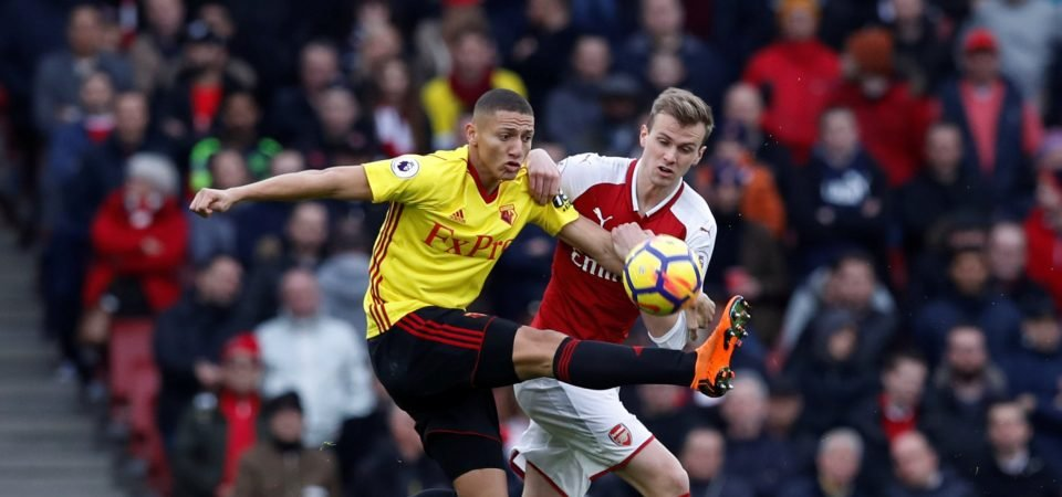 Rob Holding provides Cajones as Arsenal seal 3-0 win over Watford