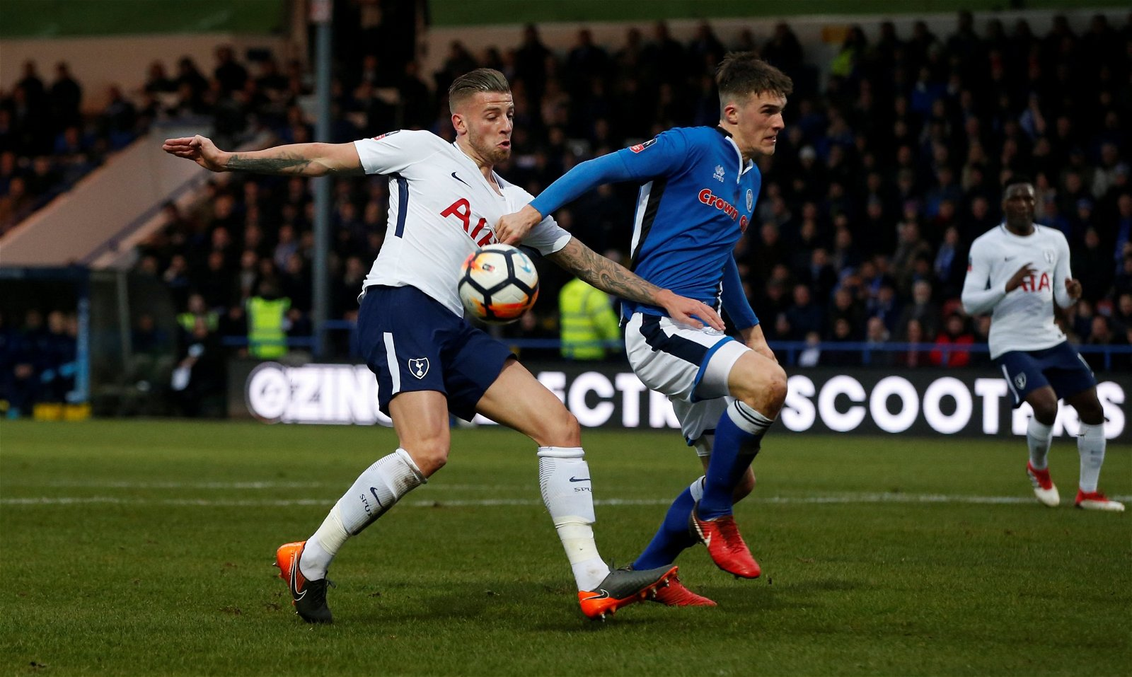 Toby Alderweireld in action for Tottenham Hotspur