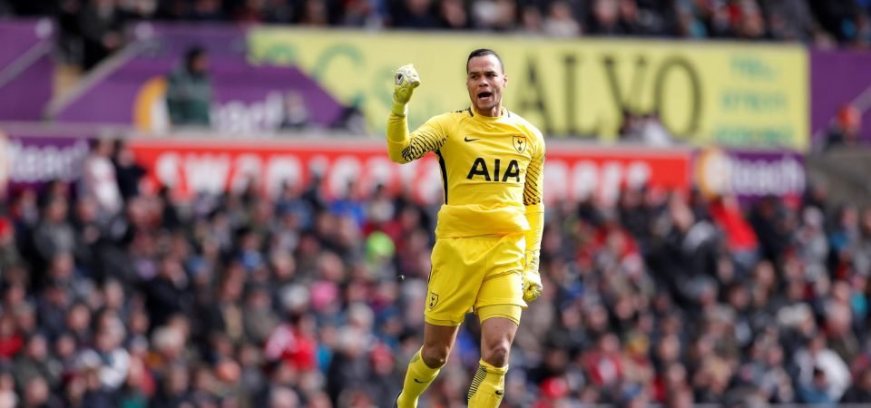 Tottenham fans delighted with Vorm contribution after vital saves vs Swansea