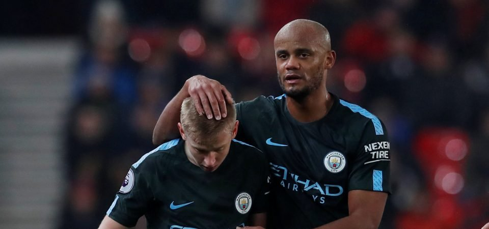 Oleksandr Zinchenko makes a strong case for being Man City's main left-back