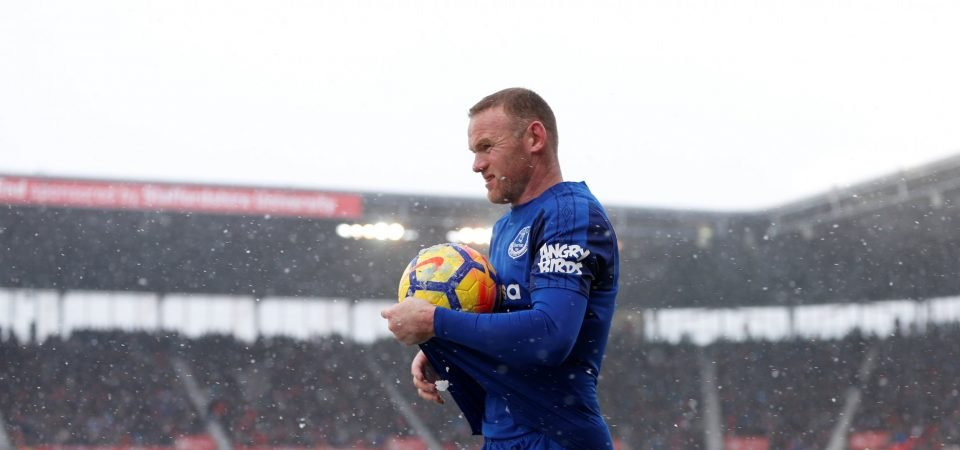 Rooney could leave Everton for DC United