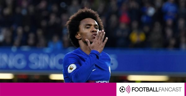 Chelsea fans react to Willian's Brazil selection