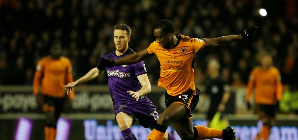 Wolves fans can't get enough of Willy Boly right now