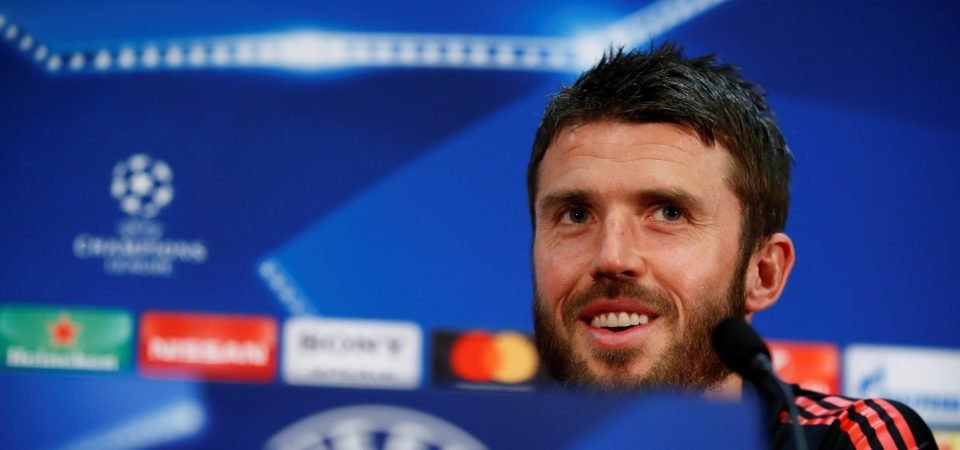 Man United fans pay tribute to Carrick as he confirms retirement date