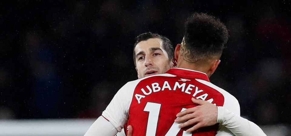 Arsenal players beginning to turn on Aubameyang and Mkhitaryan