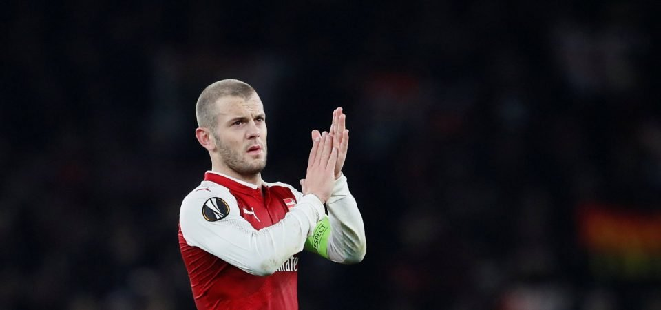 Arsenal fans heap praise on captain Wilshere after Milan victory