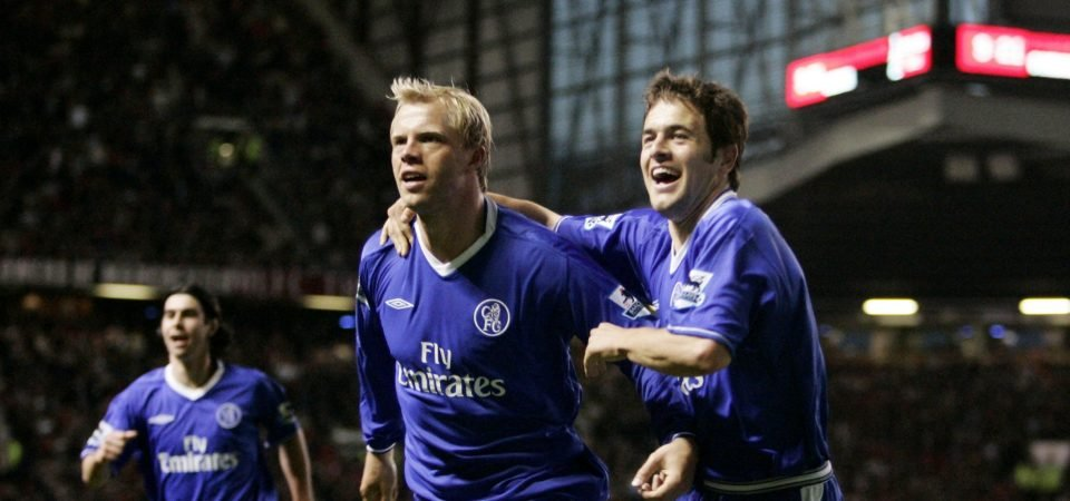Chelsea fans are loving footage of Joe Cole and Gudjohnsen