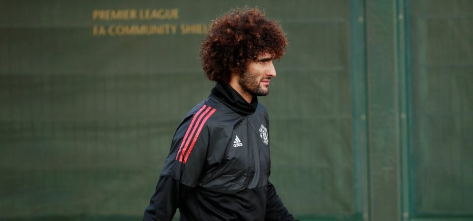 Man United fans are pleased Fellaini is unavailable for West Ham meeting