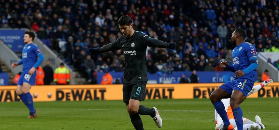 Chelsea fans loved Morata's display on return to first team