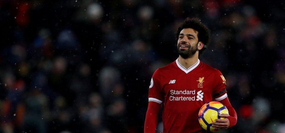 Why Mohamed Salah is drawing comparisons to Messi and Ronaldo