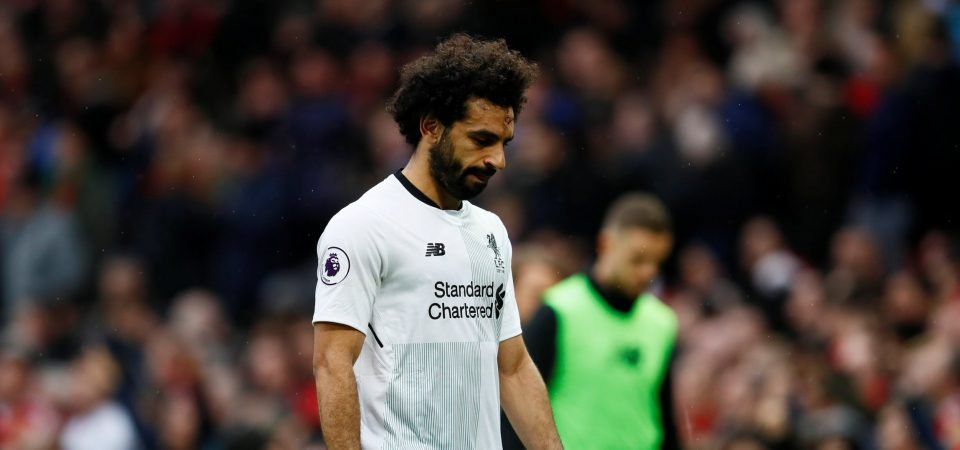The numbers that show just how much Mo Salah struggled at Old Trafford