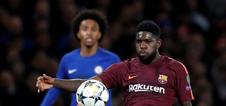 Manchester United fans react to links with Samuel Umtiti