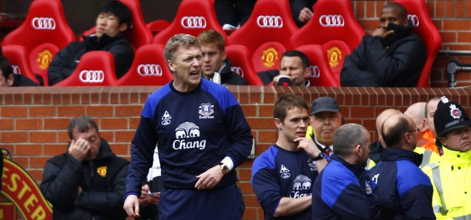 Everton fans don't want to relegate Moyes