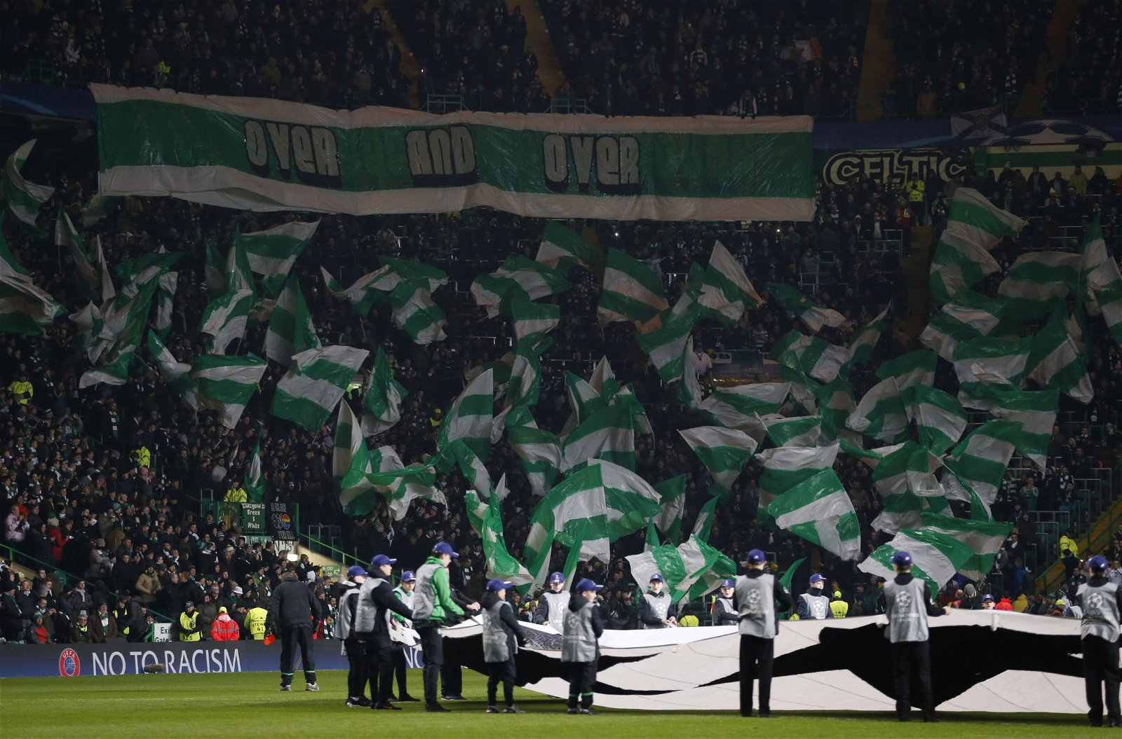Celtic Park on a Champions League night