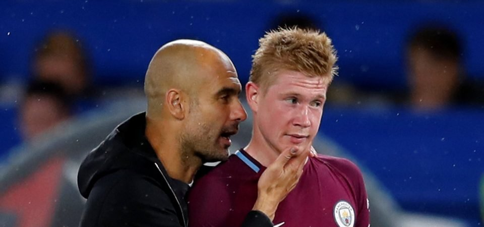 Manchester City fans delighted by De Bruyne's response to Toure drama