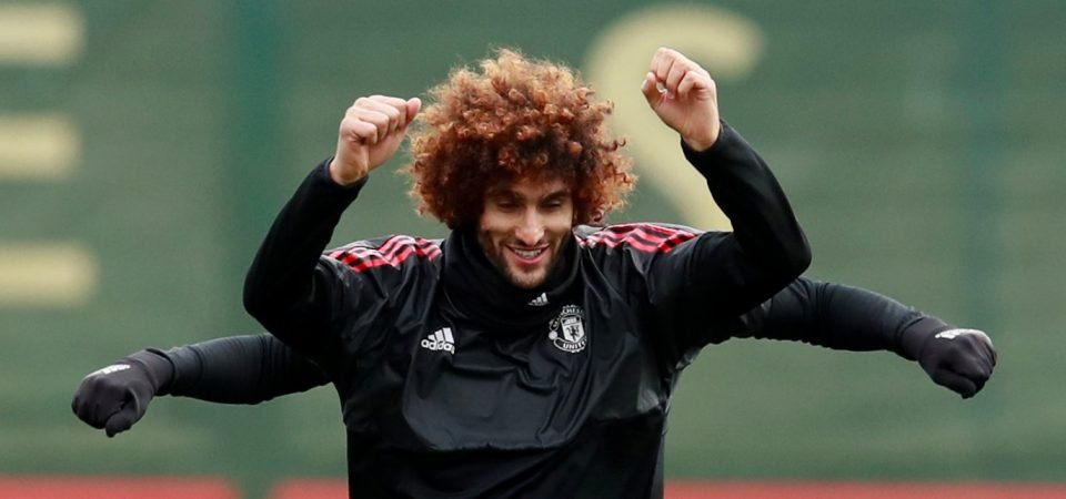Arsenal fans delighted after Fellaini signs new Manchester United deal