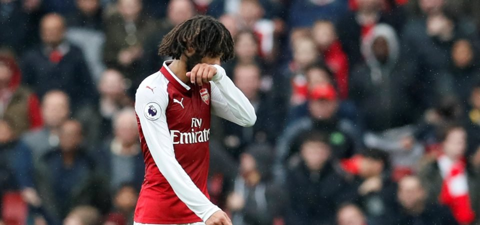 Arsenal fans confused by Emery's willingness to sell Elneny