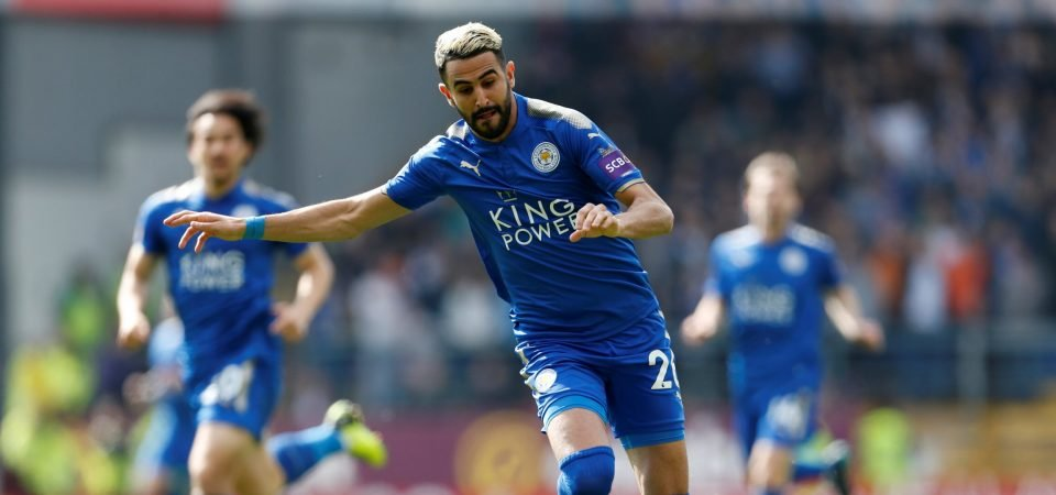 Manchester City fans post mixed reactions to Mahrez, Bertrand interest