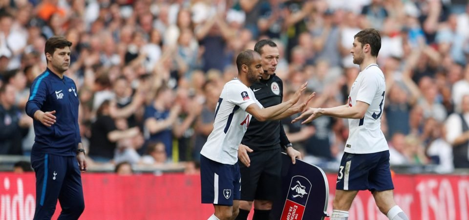 Tottenham fans unhappy with Davies performance