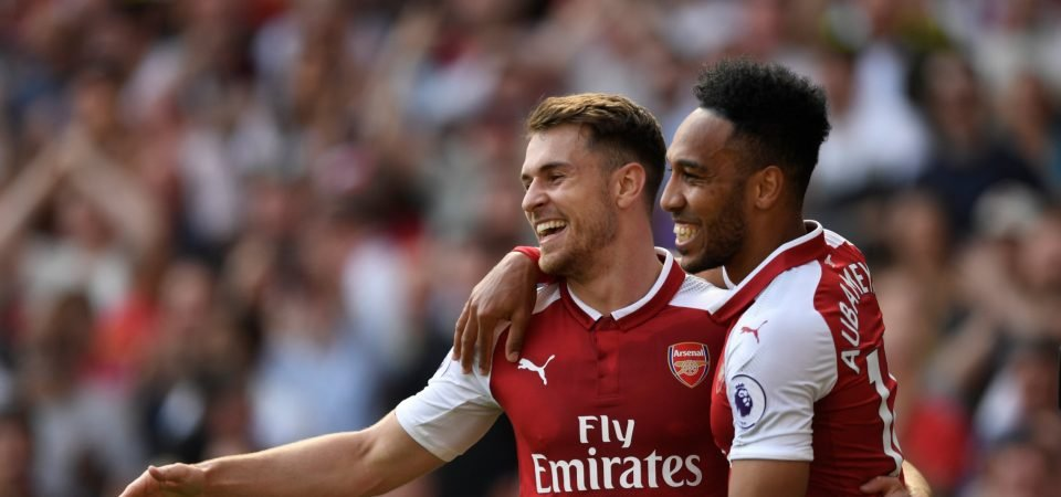 Arsenal fans back Ramsey to thrive under Unai Emery