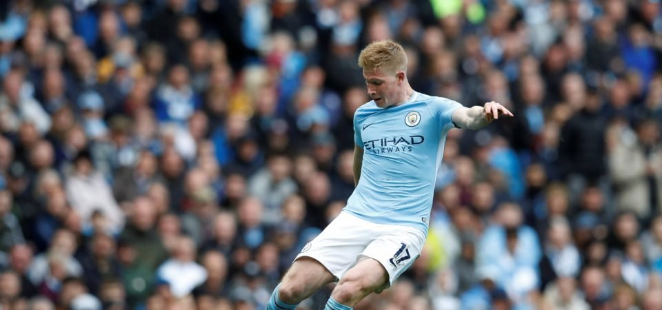 Liverpool fans want De Bruyne after learning he supported Reds as a child